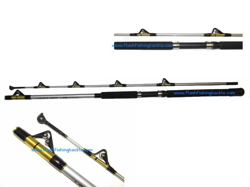 6 7ft all roller boat rod rods flash fishing tackle for Boat fishing rods