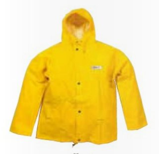 Ocean waterproof fishing jacket yellow ocean rainwear for Waterproof fishing jacket