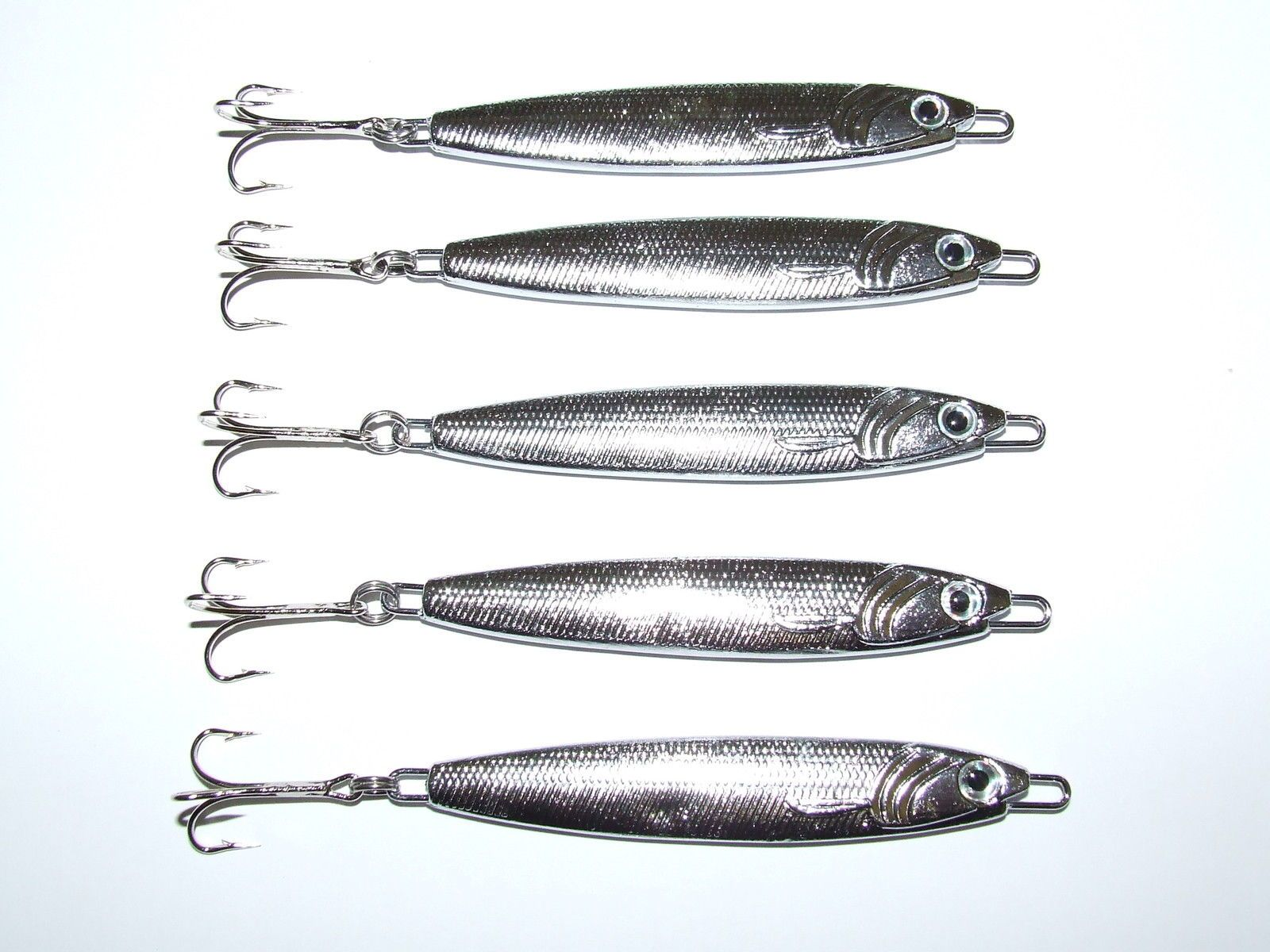 """Mackerel bass and pike fishing lures 1 x 5.5/"""" x 20gm metal spinng lure"""